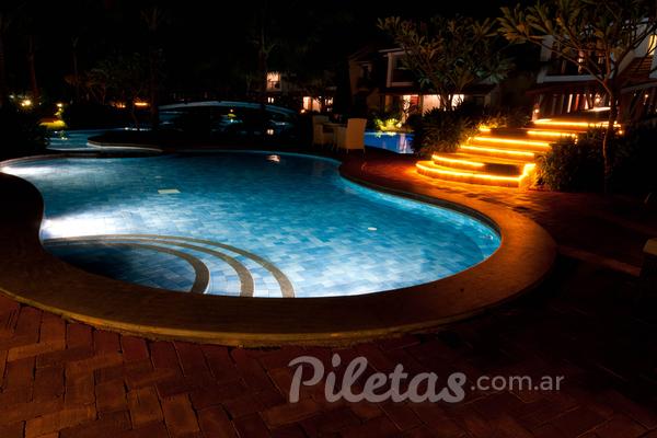 Luces de piscina: LEDs
