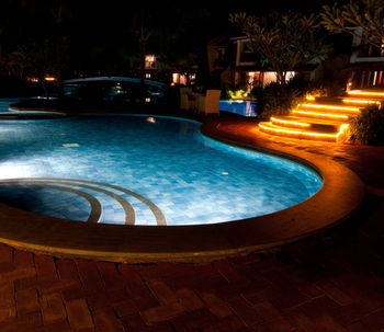 Luces de piscina: LEDs