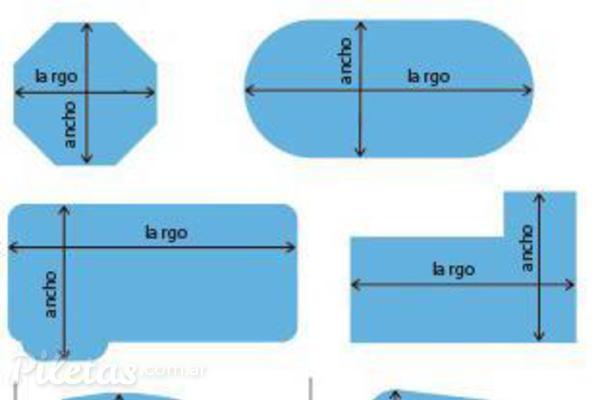Consejos para elegir formas y dise os de piletas piletas for Fotos de disenos de piletas de natacion