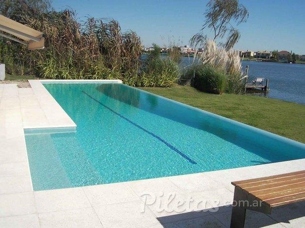 Bordes del oeste for Bordes decorativos para piscinas